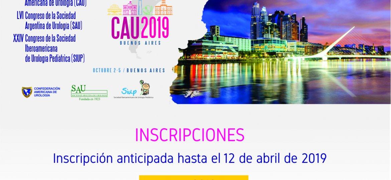 CAU 2019 Newsletter Inscripciones