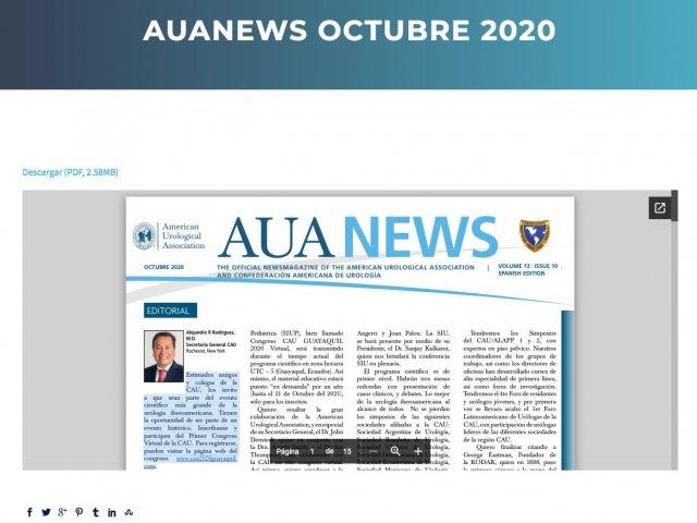 AUANEWS-Octubre-2020-CAU