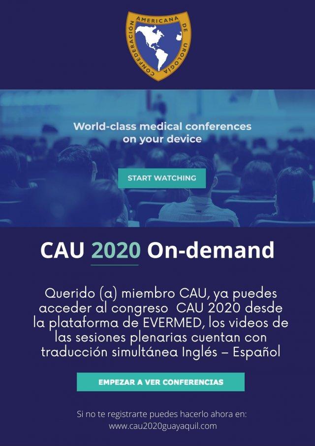 CAU 2020 On-demand (3)